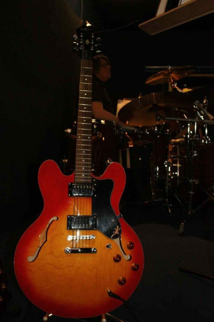 Slope Indie Rock Band München Gitarre